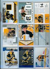 SERGEI SAMSONOV 2001-02 PINNACLE BE A PLAYER AUTO RC BRUINS