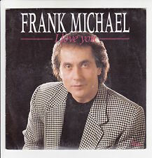 """Frank MICHAEL Vinyle 45T 7"""" I LOVE YOU - DON PEDRO - VOGUE 102411 F Rèduit RARE"""