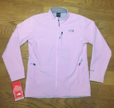 NEW NWT Womens North Face Apex Bionic Pink Ski Jacket Winter Soft Shell Coat XL