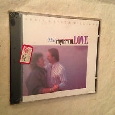ROBIN & LINDA WILLIAMS CD THE RHYTHM OF LOVE SH-CD-1027 1990 COUNTRY