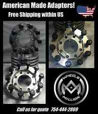 A Pair of Rear Wheel Adapter for Dually, Ford, Chevy, Dodge STEEL MADE 8X10