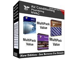Conditionnement multiple-réfrigération ac hvac plomberie ventilation de la formation des livres sur cd
