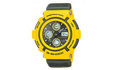"RETRO 1998 Casio G-Shock Mint Condition ""GAUSSMAN MEN IN YELLOW"" AW-570Y9A Watch"