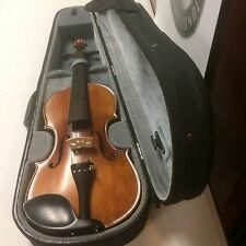 Violin 4X4 Antique Finish - New Old Stock - Beautiful Flame