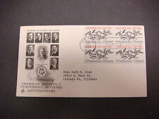 First Day of Issue,FDC,1964 50th Ann.,American Society of Composers,Authors,Publ