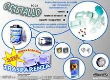 Resina da colata per inclusioni Prochina Cristallo SC-22 SC22 gr500 bicomponente