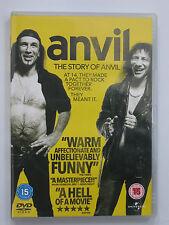 ANVIL! THE STORY OF ANVIL Sacha Gervasi (DVD 2009) Steve'Lips'Kudlow/Robb Reiner
