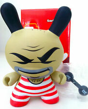 "DUNNY 3"" SERIES 2 TRISTAN EATON WEIGHT LIFTER 2/24 KIDROBOT 2005 TOY FIGURE NEW"