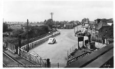 Station Road Somersham Railway Level Crossing Nr St Ives unused RP old pc RA