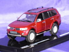 MITSUBISHI PAJERO SPORT 1:43 VITESSE 29361 BORDEAUX RED METALLIC NEW DIECAST