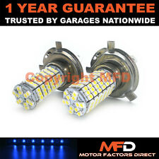 2X BLUE XENON H4 120 SMD LED MAIN BEAM BULBS FOR LAND ROVER DISCOVERY FREELANDER