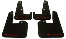 Rally Armor for 08-2014 STi / 11-14 WRX HB UR Mud Flaps w/ RED Logo SUBARU