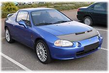 Honda CRX 3 Del Sol 1992-1998 CUSTOM CAR HOOD BRA NOSE FRONT END MASK