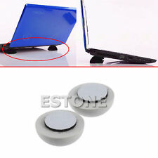 Laptop Notebook Antiskid Cooling Cooler Stand Ball Leg Skidproof Pad White Hot