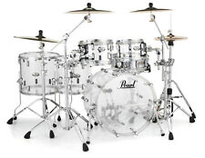 Pearl Crystal Beat Acrylic Drum Set 22/10/12/14/16 Ultra Clear - CRB525FP/C730
