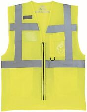 Yoko Hi Vis Executive Open Mesh Waistcoat Construction High Viz Vest (HVW820)