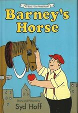 Syd Hoff, BARNEY'S HORSE, I Can Read Book, 1987, 1st Edition, HC/DJ