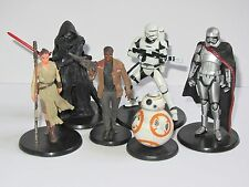 Disney Store Star Wars The Force Awakens Figure Set Kylo Ren BB-8 Rey Phasma