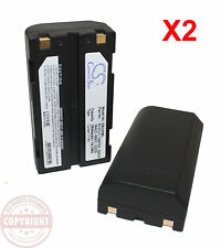 2 GPS BATTERY FOR TRIMBLE 5700,5800,R6,R7,R8,SPS780,SPS880,Epoch,TSC1,EI-D-LI1
