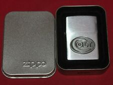 Colt Firearms Factory Colt ZIPPO lighter in Case .