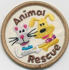 Girl Boy Cub ANIMAL RESCUE  Fun Patches Crests Badges SCOUT GUIDES Adoption care