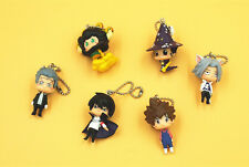 Free Shipping Katekyo Hitman Reborn 6PCS Mini Toy Figure Doll Backpack Pendant