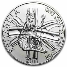 New 2011 UK Great Britain Silver Britannia 1oz Bullion Coin
