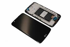 Original LG K10 K420N LCD Display Touch Screen Front Cover Glas Rahmen Komplett