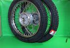 2x Felge Rad Räder + Reifen S50 S51 Enduro Profil 16Zoll f. Simson S51,KR51,S50