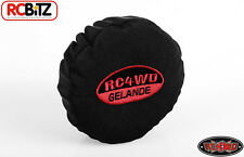 RC4WD Gelande 2 II Spare Tire Cover fits 1.55 1.7 & 1.9 stitched logo Black G 2
