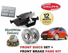 FOR CITROEN C2 2003 - 2010 1.6 VTR VTS GT HDi FRONT Brake DISCS SET & PADS KIT