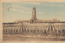 CF64.Vintage Postcard. National Cemetery of Douaumont. France.20,000 tombs