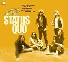 Very Best Of The Early Years - Status Quo (2015, CD NEUF)2 DISC SET