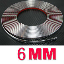 6MM /15M  X 49FT CHROME SILVER MOULDING TRIM CAR BUMPER PROTECTOR STRIP