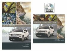 2015 Jeep Compass User Guide plus Owners Manual DVD Reference Operator Book