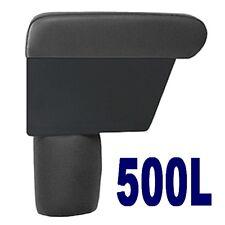 Mittelarmlehne PREMIUM für FIAT 500L (2012 ) schwarzem Kunstleder-Made in Italy-