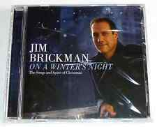 JIM BRICKMAN - ON A WINTER'S NIGHT CD The Songs and Spirit of Christmas  NEW