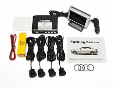 CISBO WIRELESS REAR PARKING REVERSING 4 SENSORS WITH LCD DISPLAY