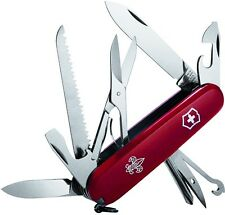 Victorinox Swiss Army Boy Scouts Of America Red Huntsman 91mm Clam Pack 54201
