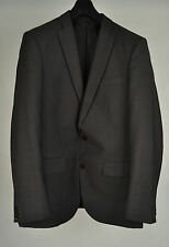 J. Lindeberg Grey Wool 2 Button Blazer Jacket 48