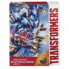 "Transformers Age of Extinction FIRST EDITION  Leader Class Optimus Prime 9"" TALL"