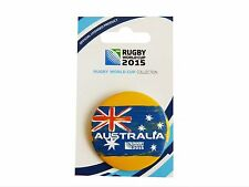 Rugby World Cup 2015 Australia Button Badge - Official Licensed Product