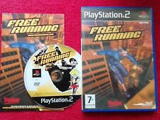 FREE RUNNING ADRENALIN JUNKIE GAME ORIGINAL BLACK LABEL SONY PLAYSTATION PS2 PAL