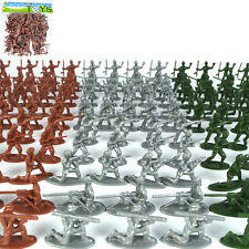 100 Pcs/set Plastic Toy Soldiers Classic Wars Toys for Kids Child Birthday  JG