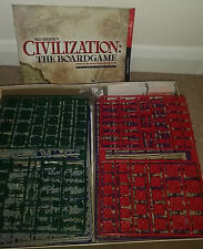 VERY RARE NEW CIVILIZATION: THE BOARD GAME 2nd ed by Eagle Games [2003, ENGLISH]