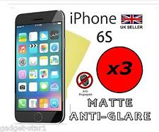 3x HQ MATTE ANTI GLARE SCREEN PROTECTOR COVER GUARD FILM APPLE IPHONE 6S 4.7""