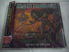 IRON MAIDEN-From Fear To Eternity JAPAN 1st.Press PROMO w/OBI, STICKER Scorpions