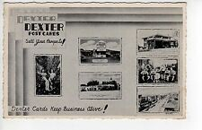 Super! Advertising For Dexter Press!, 2 Texaco Gas Stations, Ice Cream Stand++