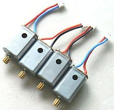 Upgrade 4 Motors with Brass Gear Rc Quadcopter Spare Parts for Syma X8c X8w X8g
