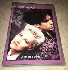 Roxette Live in Sydney 1991 DVD Rare OOP Authentic NTSC Release NEW SEALED